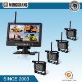 7 pouces TFT LCD moniteur de vue arrière pour la sauvegarde de voiture pour les gros véhicules