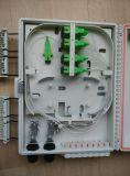 Caja Mural De Empalme Y Reparto PARA 16 Fibras Con 1*8 1*16 FTTH Splitter