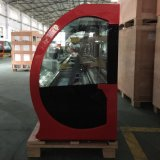 HandelsFeinkostgeschäft-Schaukasten für Kuchen-Bildschirmanzeige/Gebäck-abkühlenden Glasschaukasten (G780A-W)