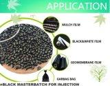 Пластичное черное Masterbatch для пленки впрыски