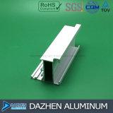Profilo di alluminio dell'espulsione per la stoffa per tendine personalizzata del blocco per grafici di portello della finestra
