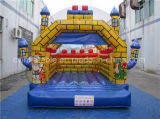 Castillo animoso de los juegos inflables con precio barato
