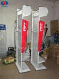 Fabricant OEM Customized Strong Metal Milk Floor Display Stand