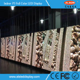 Visualización de LED a todo color de interior del ahorro de costes P3 RGB con precio de fábrica
