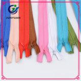 Застежка -молния ленты ткани полиэфира изготовленный на заказ Nylon незримая для одежд