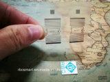 UHF ID 칩 상감세공이 RFID에 의하여 ISO18000-6c NXP Ucode7 Az-F7 레테르를 붙인다