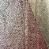 Cuir synthétique PU pour vêtement Hw-158