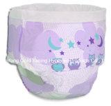 Gran capacidad de absorción de bebé Impreso ABDL plástico Backed pañales para adultos bebé