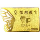 Gold Hot Stamping para cartão de visita Folha de plástico