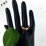 fashion Ring 최신 단순한 설계 스테인리스 보석 숙녀