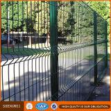 Bon marché 3 panneaux de frontière de sécurité soudés par fois de treillis métallique de fer avec le meilleur prix