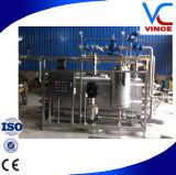 Esterilizador de Uht tubular completamente automático de la leche de la bebida del jugo del certificado del Ce