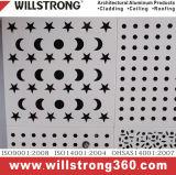 Placage en aluminium d'impression de poudre pour la façade