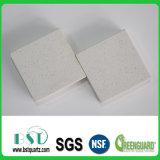 pedra artificial de superfície contínua branca de quartzo de 12-30mm