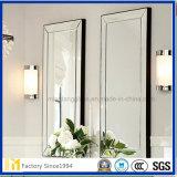 2-6mm sin cerco hermoso espejo de plata, muebles espejo