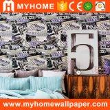 2017 Salle de séjour de haute qualité 3D de la décoration de papier peint