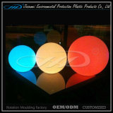 RGB PE Material Floating LED Ballon d'éclairage de piscine