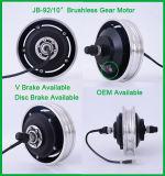 """Motor eléctrico sin cepillo de la rueda de la vespa de Jb-92/10 """" China 10 """""""