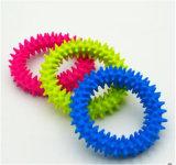 TPR LED blinkende Haustier-Spielzeug-Kugel für Haustier-Hundekauen-Gummikugel-Spielzeug mit Bell