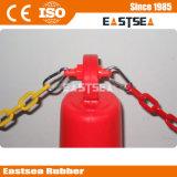 Cone, Post accessoires en plastique de sécurité T-Top de verrouillage de la chaîne
