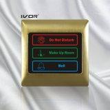 Панель системы дверного звонока гостиницы напольная в рамке плана металла (SK-dB2000S3)
