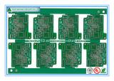 Tarjeta de circuitos impresos verde del PWB Quick_Turn del prototipo 2layer