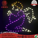 LED-Dekoration Oudoor Winkel-Eisen-Rahmen-Motiv Chritmas Licht für Feiertags-Dekoration