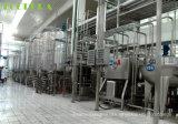 Mineralwasser-abfüllende Zeile beenden