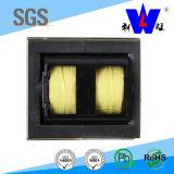 電源の変圧器または高周波変圧器か円環形状の変圧器