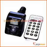 Melhor freqüência para o transmissor FM 4 botões RF transmissor de controle remoto Bluetooth Hands Free Car Kit
