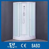 2017 La Chine usine cabines de douche en verre de couleur blanche