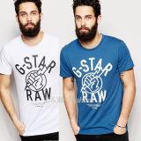 Teeshirt fait sur commande en gros d'hommes de coton de T-shirt