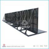 Barreiras da multidão do metal dos sistemas de barreira móvel