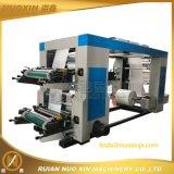 Печатная машина пленки HDPE PE 4 цветов Flexographic