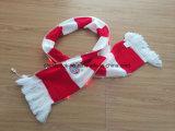 Strato della sciarpa del Knit di sport del LED Munchen doppio con ricamo