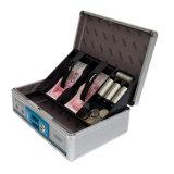 Boîte en caisse d'économie d'énergie portable en aluminium avec bac de rangement