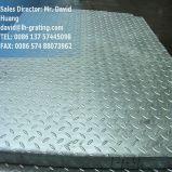 Galvanisiertes Metall, das für Stahlfußboden zerreibt