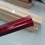 Cortina Rod de la aleación de aluminio/poste (01T0001)