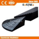 Schwarzer multi Zweck-Typ bewegliche Gummibordstein-Rampe