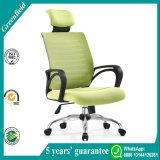 Acoplamiento del verde del precio de fábrica y silla Heated modernos del ordenador de oficina de la tela para la venta