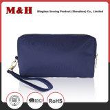 Piccolo sacchetto blu dell'estetica del sacchetto di promozione del sacchetto delle signore dell'unità di elaborazione del Portable
