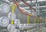 Machine d'enduit automatique manuelle de poudre pour des produits en métal