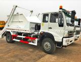 FAW Skip Loading Waste Truck, Skip loader truck