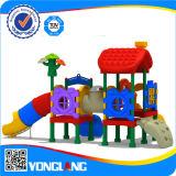 De kinderen glijden Apparatuur van de Speelplaats van het Pretpark de Openlucht