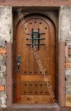 Porte en bois solide de type américain