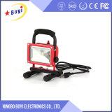 Venta caliente baratos 10W recargable LED luz de trabajo magnético