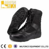 Mens en cuir noir véritable prix bon marché de l'Armée militaires de combat tactique d'amorçage Boot