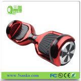 Vespa eléctrica inteligente accionada 4400mAh popular Hoverboard del balance del uno mismo de la batería de litio 6.5inch