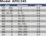 Vorbildliche Afh-345 Airco Ausschnitt-Spitze der Öffnungs-0.6-3.0