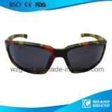 Lunettes de soleil de recyclage chaudes à la mode de sport d'hommes de lunetterie